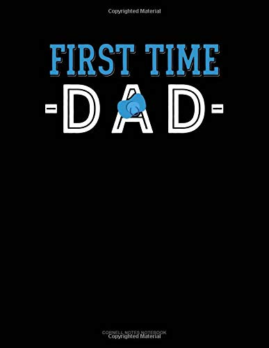 First Time Dad: Cornell Notes Notebook por Jeryx Publishing
