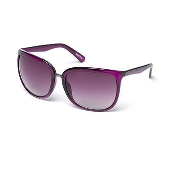 e35b8dc0a9c5 MUK Women's Dakota Sunglasses Hollyhock Frame with Smoke Lens MUK107756 One  Size: Amazon.co.uk: Clothing