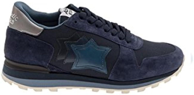 Atlantic Stars - Zapatillas de Ante para Hombre Azul Navy -