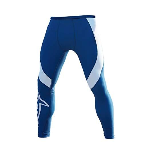 Jsfnngdv Wetsuit Pants Premium-Neopren Tauchen Surfen Schnorcheln Pants Für Männer Kajak Sporthose Warmhalte UV Schutz Hosen Neopren- Erwachsene Kanusport (Color : Blue, Size : XXXL)
