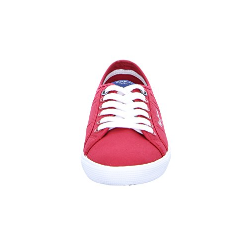 Pepe Jeans Aberman 2.1, Sneakers Basses Homme Rot (Factory Red)