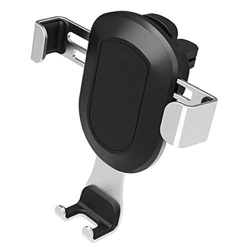 Sen-Sen Universal Autotelefonhalter Air Vent Mount Clip Handyhalter für Handy Silber -