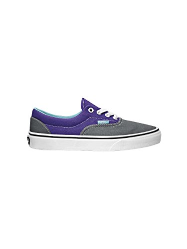Vans Era, Scarpe da Skateboard Unisex – Adulto Multicolore (Grigio/Viola)