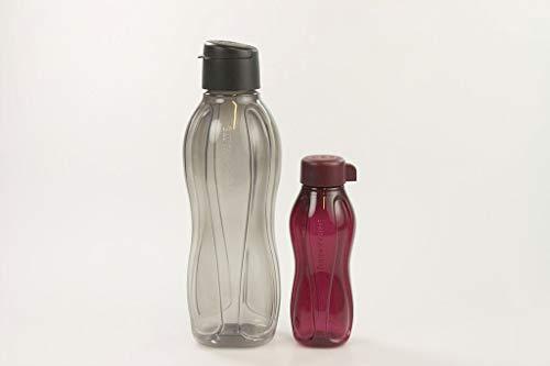 Tupperware Eco To Go C138 32194 - Borraccia da 1 litro, 310 ml, colore: bordeaux