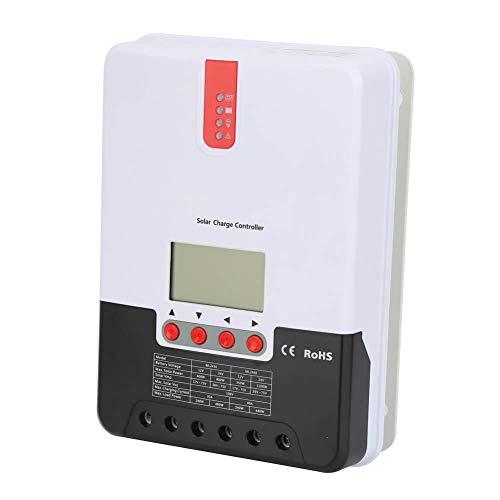 Solarladeregler Negative Masse Intelligenter Regler mit LCD-Display für verschiedene Batterietypen(40A ML2440)
