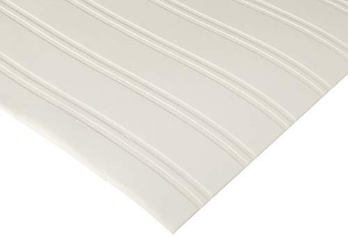 Graham & Brown zum überstreichen Ziegelsteinwand Beadboard Streifen Textur Tapete, Weiß -