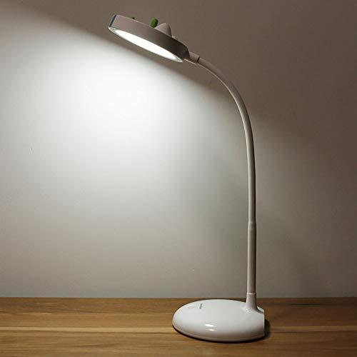 HHCC Tischlampe Buch Reading Light Foldable tragbare Schreibtisch-Lampe mit Flexible Neck Touch Control Eye-Protect und LED-Lampen für E-Reader-Musik Stand Nacht Licht,Baselight Reader Control