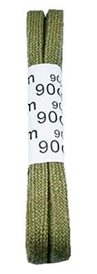 Lacets coton lacet plat 7 mm 90 cm beige (0020)