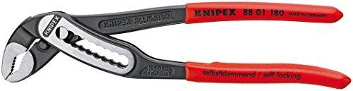 (Knipex 88 01 180 SB Alligator Wasserpumpenzange Länge: 245 mm)