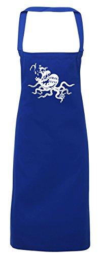 hippowarehouse Sailors Grave Schürze Küche Kochen Malerei DIY Einheitsgröße Erwachsene, königsblau, Einheitsgröße (Erwachsenen Grave Ghoul Kostüme)
