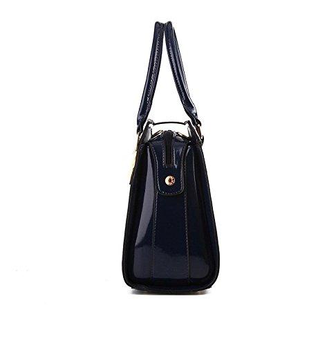 CELO Casual qualità retro sacchetto di spalla delle borse Messenger Bag nuove donne di modo , pink black