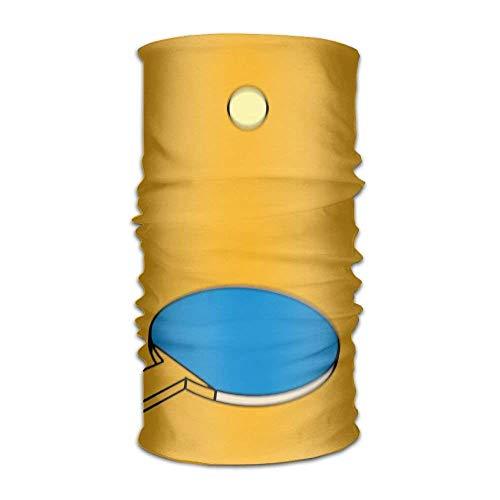 (Cartoon Ping Pong Paddle Hitting Headwrap Unisex Headwear Headband Neck Scarf Microfiber Do Rag Cap Magic Head Scarf Bandana Printed Headdress Face Mask Neck Gaiter)