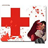 Team Fortress 2 Medic Mouse Pad, Mousepad (10.2 x 8.3 x 0.12 inches)