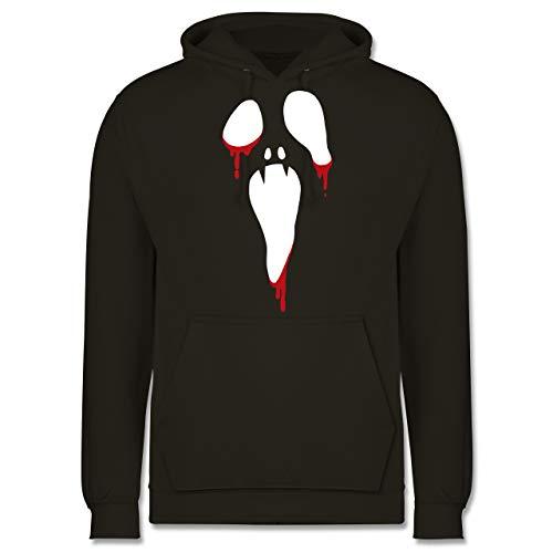 - Scream Halloween - XL - Lavendel - JH001 - Herren Hoodie ()