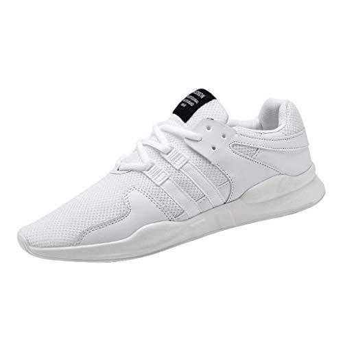 REALIKE Herren Sneaker Laufschuhe Mode Mesh Dicke Sohle Atmungsaktiv Gym Turnschuhe Leichtgewicht Freizeitschuhe Trainer Outdoor Shoes Straßenlaufschuhe Running Fitness Schuhe (High-top-osiris Schuhe)