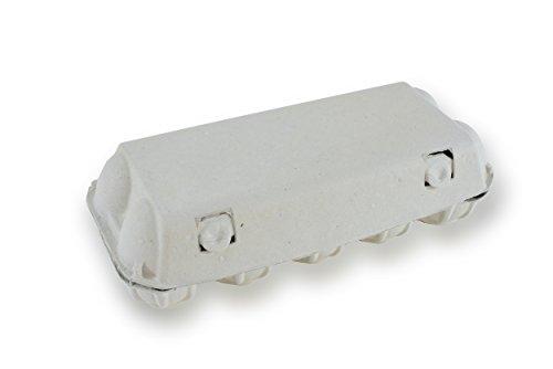 10er Eierkarton unbedruckt weiß 210 Stück