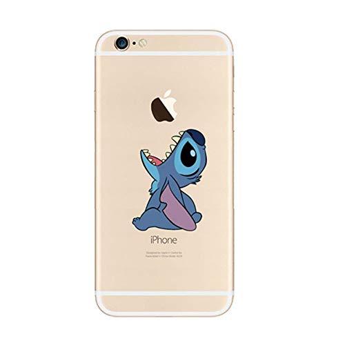 Phone Kandy® Clear/Transparent klar/durchsichtig Hard case for iPod Cartoon Hülle Abdeckung Haut tascen (iPod Touch 5/6, Stitch) (Disney Ipod Touch)