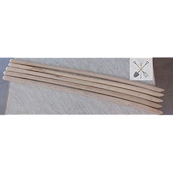 ca 130 cm lang Xclou Standard Schaufelstiel sowie gute Kraft/übertragung Holzstiel aus hochwertigem Eschenholz praktische Handhabung