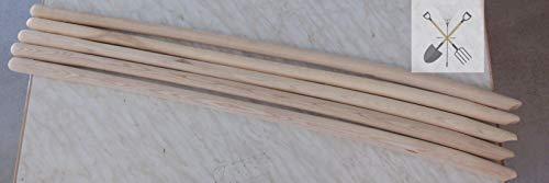 5 St. Schaufelstiele 130 cm aus ESCHE gebogen in Topqualität *Made in Germany* -