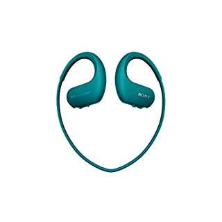 Sony Walkman NW-WS413 - Lecteur MP3 Intégré à des Ecouteurs - Etanche - 4 Go - Bleu