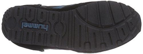 hummel REFLEX Unisex-Erwachsene Sneakers Schwarz (Black 2001)
