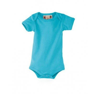 SOLS Baby Organic Cotton Bambino Short Sleeve Bodysuit (3-6 Months) (Turquoise)  available at amazon for Rs.1412