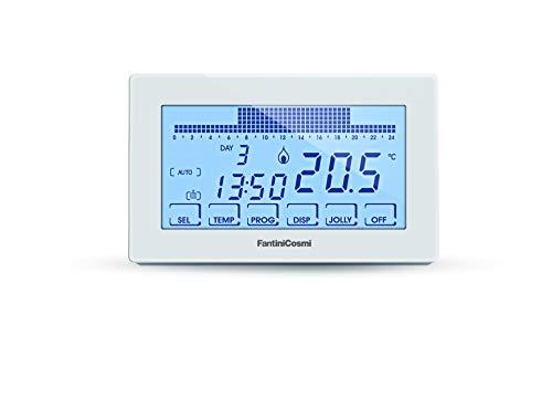 Zoom IMG-1 fantini cosmi ch180 cronotermostato touchscreen