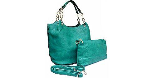 InStyle Bags , Damen Tote-Tasche türkis
