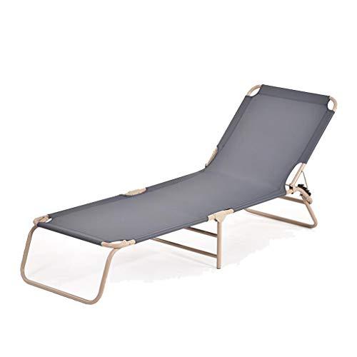 Einfaches Klappbett Home Mittagspause Büro Einfaches Nickerchen Begleitbett für Erwachsene Rollsnownow (Farbe : Gray, größe : 188 cm x 57 cm x 30 cm)