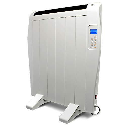 Gridinlux. Homely Atmosphere 900W. Emisor Térmico, Radiador Eléctrico, 6 Elementos, 3 Modos, Mando...