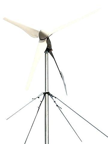 Tumo-Int 2000W 3 Aubes Plié Queue de Énergie Éolienne Générateurs avec MPPT Contrôleur (48V)