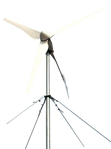 Tumo-Int 2000 Watt 3 Blätter Windkraftanlage mit hybride Kontroller (96V)