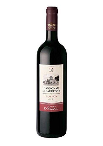 6 x 0.75 l - D53, Cannonau di Sardegna Doc Classico, vino rosso sardo di gran pregio della Cantina di Dorgali.