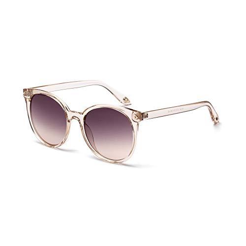 RUIXIAO Lady Retro Sonnenbrille runder transparenter Rahmen Brille UV400 Fahren Brillen Sportbrillen Premium Outdoor Running Cycling,progressivecoffee