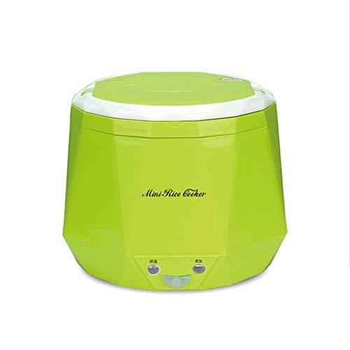 Mysida Mini-Reiskocher 1.3L verwendet im Haus 220v oder Auto 12v zum großen LKW 24v genug für Zwei Personen-Gebrauch (Farbe : Green, größe : 24V)