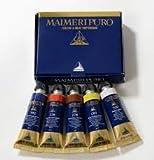 Maimeri Boîte 5Tubes 15ML Couleurs à l'huile Pur
