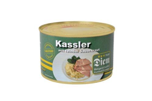 Diem Kassler mit Sauerkraut Dose 400g