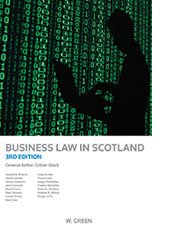 Business Law in Scotland (Greens Student Text)
