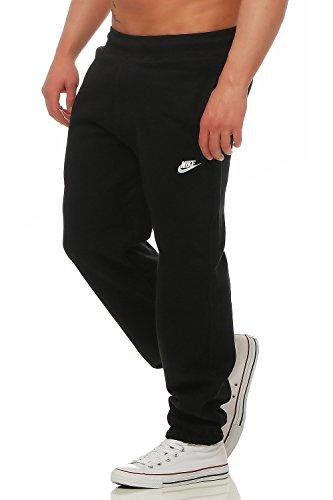Nike Herren Brushed Fleece Pant, Hose Schwarz