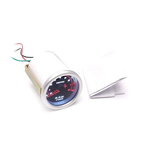 CNSPEED 52mm Auto Motor Zeiger Tachometer Tacho Gauge Meter 8000 RPM Zylinder