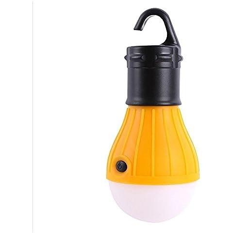Costar Lampada LED da campeggio ,campeggio esterno Lampada con Rotonda tenda , portatile lampadina lampada, Per campeggio, escursioni, tenda, come torcia e luce di emergenza bianco caldo