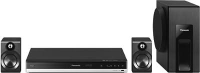 Panasonic SC-BTT105EG-K - Equipo de Home Cinema 2.1 (Blu-Ray 3D, 300 W, HDMI, USB, Full HD, NFC, Bluetooth, RDS), negro