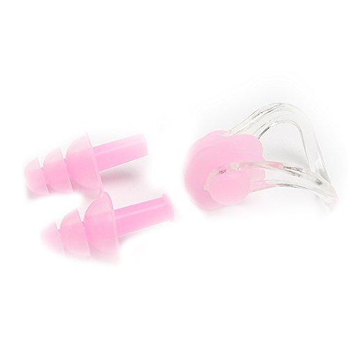 Romote Schwimmen Wasserdichte Ohrstöpsel Silikon Ohrstöpsel Schwimmen Schutzausrüstung,1 Paar