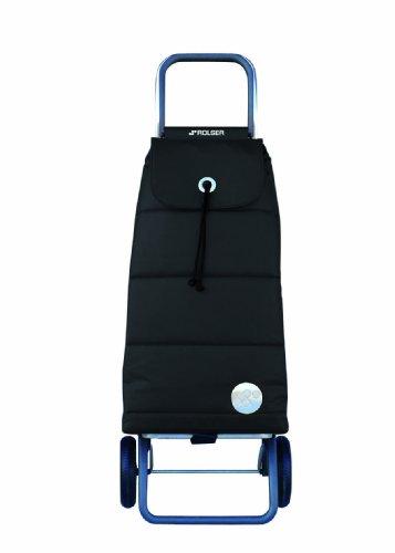 ROLSER Einkaufsroller LOGIC RG / PACK POLAR / PAC023 / schwarz / 39,5 x 32,5 x 105,5 cm / 48 Liter / 40 kg Tragkraft