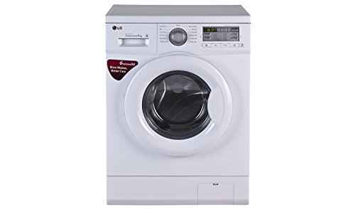LG 6 kg Fully-Automatic Front Loading Washing Machine (FH0B8NDL2, Blue...