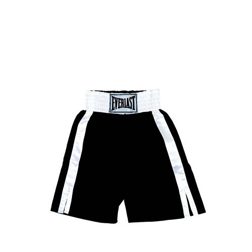 everlast-pro-boxing-trunks-shorts-61cm-black-white-s