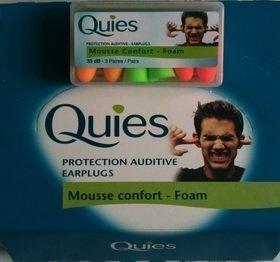 Quies Ear plugs - Earplugs 35dB-3 Pairs by Quies by Quies (Quies Ear Plugs)