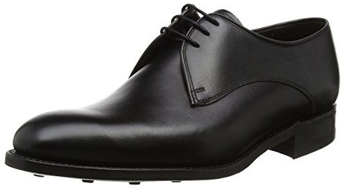 Barker Pitlochry, Derbys Homme Black (Black Calf)