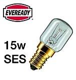 1x Eveready 15W Pygmy Bulb Appliance Lamp SES(E14) -