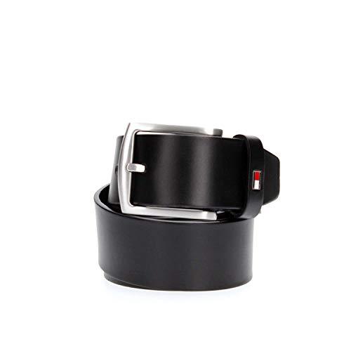 Tommy Hilfiger Herren New Denton Belt 4.0 Gürtel, Schwarz (Black 090), 679 (Herstellergröße: 115)